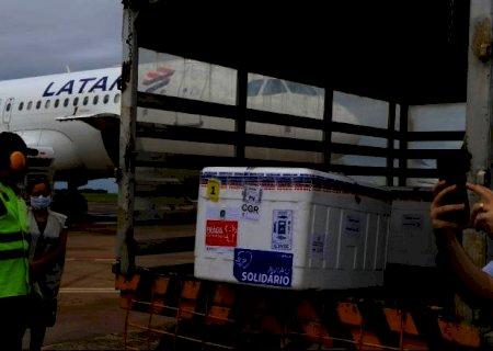 Mato Grosso do Sul recebe 58,1 mil doses nesta quarta-feira para avançar imunização contra Covid-19