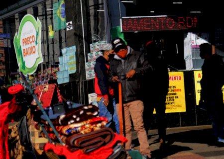 Prepare os casacos: mais duas frentes frias devem atingir MS em agosto