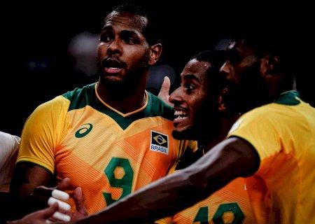 Brasil vai mal e sofre 3 a 0 da Rússia no vôlei masculino
