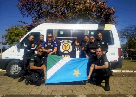 Para aprimorar técnicas, servidores da Agepen realizam treinamento de Operações Especiais Prisionais em São Paulo