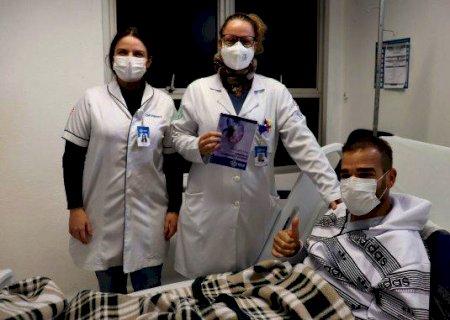 Após 10 anos de espera, paciente de Campo Grande recebe transplante de rim e comemora vida nova