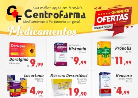 Confira as ofertas da CentroFarma