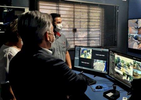 Jateí inaugura sistema de videomonitoramento considerado modelo para o Estado