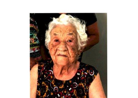 Morre a pioneira \'Dona Biquinha\' esposa do saudoso \'Ninô\'