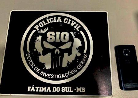 SIG de Fátima do Sul recupera celular furtado no mês de janeiro