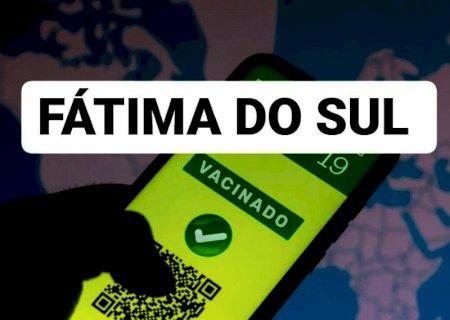 TÁ VACINADO?, Eventos são liberados com 50% e passaporte da vacina em Fátima do Sul