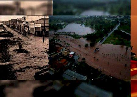 Afonso Pena virou rio e viaduto caiu: relembre grandes tempestades que entraram para a história de Campo Grande