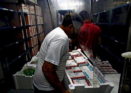 Mato Grosso do Sul recebe mais 106.500 doses de vacina contra a Covid-19 nesta terça-feira