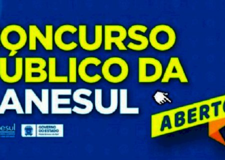 TÁ VALENDO: Inscrições para o Concurso público da Sanesul com 74 vagas já podem ser feitas