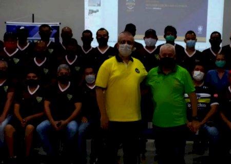 Curso forma 42 novos treinadores de futebol de 11 cidades de MS